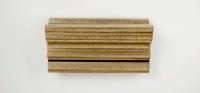 55B Zilver - bruine pat.